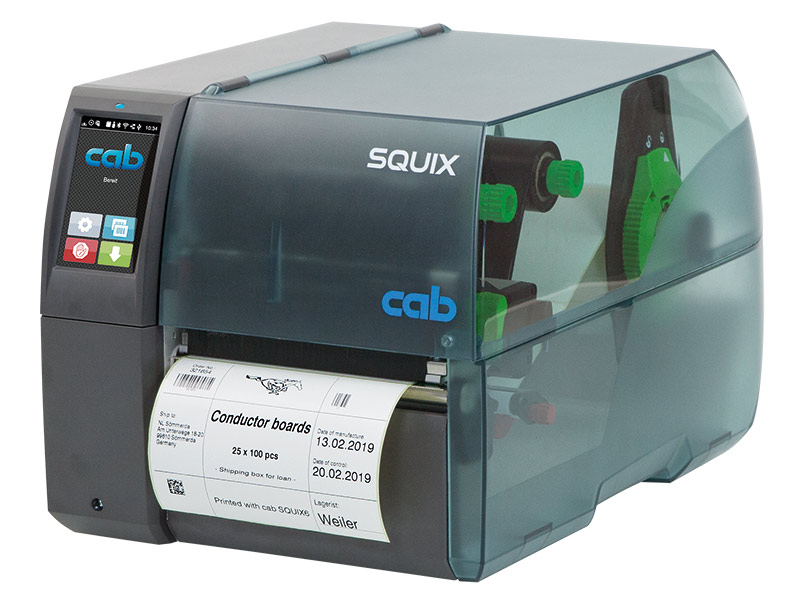 FREE Extended warranty with new SQUIX Label Printers