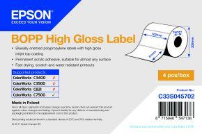 Epson BOPP High Gloss Label - C7500G