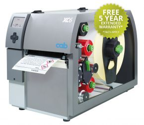 Cab XC6 GHS Label Printer