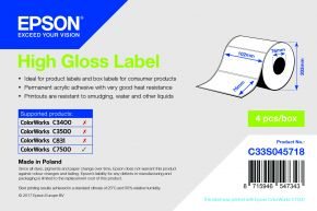 Epson High Gloss Label - C7500G
