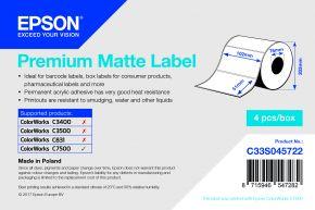 Epson Premium Matte Label - C7500