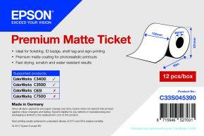 Epson Premium Matte Tickets - C3400 & C3500