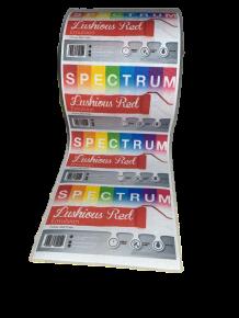 Polyester/Cotton Taffeta Heat Sealable Textile Labels