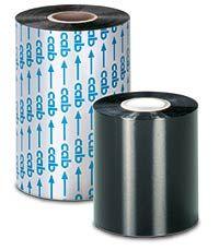 CM43 Black Resin/Wax Ribbon
