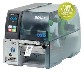 Cab SQUIX MT Industrial Label Printer - For Textile Labels