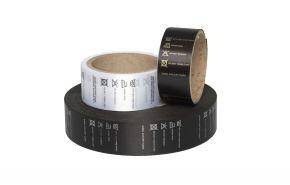 Black Satin Washcare/Garment Labels