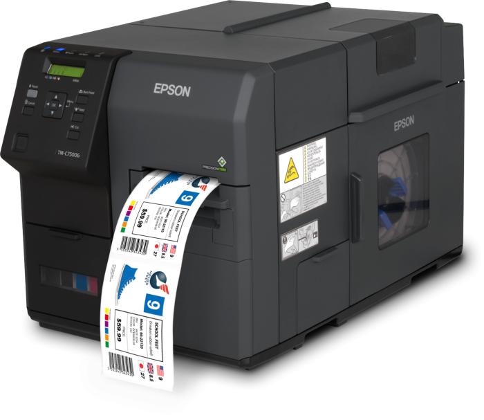 Epson Case Study - Epson ColorWorks C7500