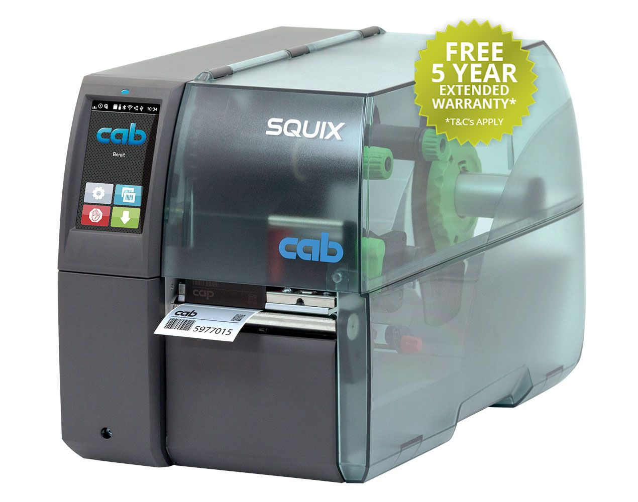 Free Onsite Warranty For New SQUIX Printers Ordered in May 2019