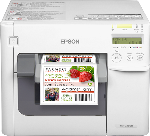 Epson ColorWorks C3500 Label Printer