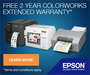 Free 2 Year Extended Warranty from Epson until 30th September 2019