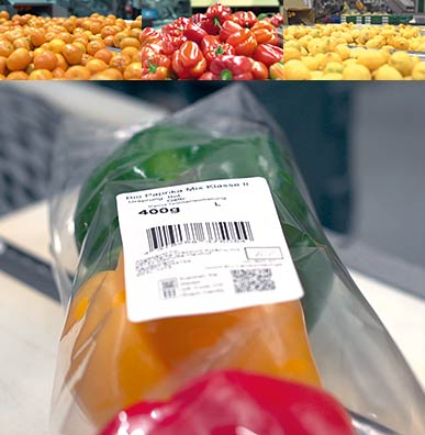 Case Study - Use Hermes+ for automatic labelling of fruit & vegetables