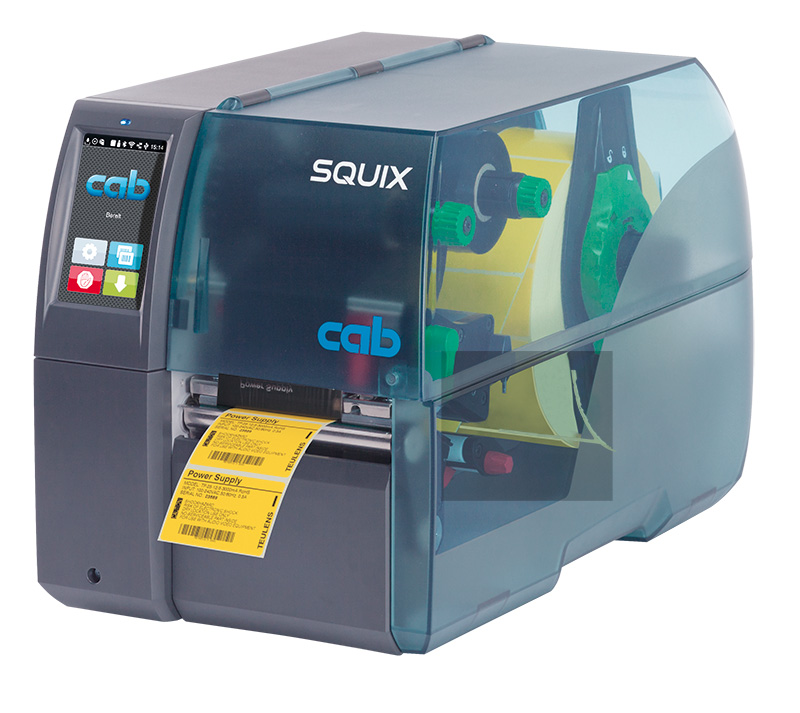 Labfax presents the new Cab SQUIX and Mach ½ Label Printers