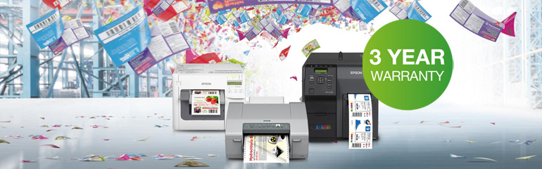 Epson Colorworks FREE exentded warranty offer